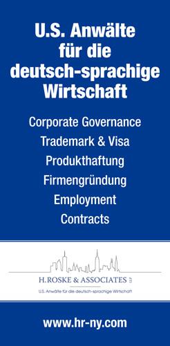 US Anwälte für die deutsch-sprachige Wirtschaft